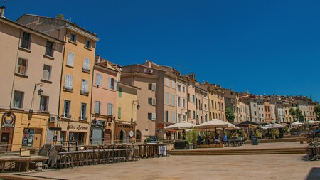 The colourful French city of Aix-en-Provence is a great place to discover cool art