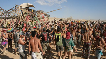 The Midburn Festival in the Negev desert is one of the top music festivals in Israel