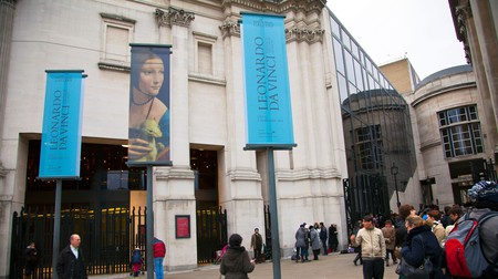 The National Gallery's Leonardo Da Vinci exhibition allowed visitors to view his work in the context of his peers