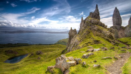 No visit to Skye is complete without seeing the Old Man of Storr