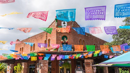 The Historic Market Square in San Antonio, Texas, is known as the largest Mexican market outside of Mexico