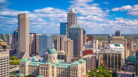 Downtown Indianapolis is brimming with fun adventures and beautiful sights