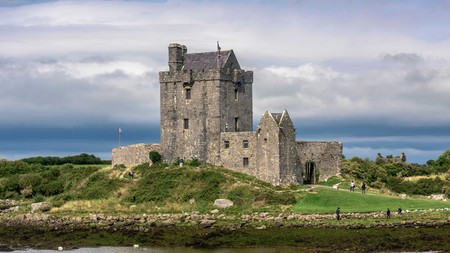 The historical landmark of Dunguaire Castle in Kinvara