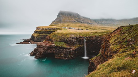 There is natural beauty at every turn on the Faroe Islands