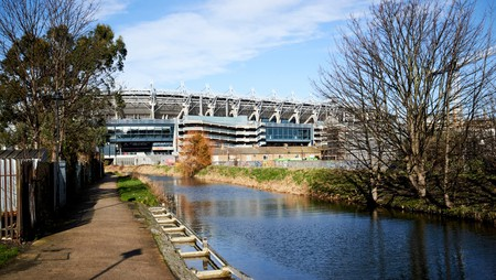 Walking along the Royal Canal and catching a game at the Croke Park stadium are some of the top things to do in Drumcondra