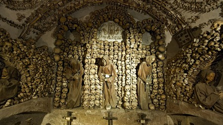 Celebrate Halloween weekend in Rome with a visit to the Santa Maria della Concezione crypt