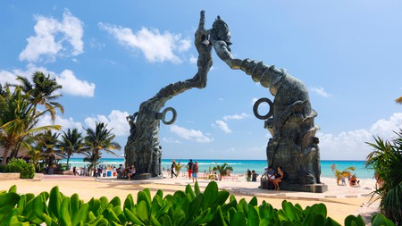 Playa del Carmen is famed for its white-sand beaches, turquoise seas and vibrant nightlife