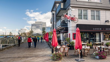 The Bicycle Thief, on Halifax waterfront, is one of many great Italian eateries in the city