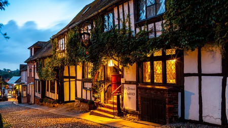 The Mermaid Inn in Rye is said to be one of the UK's most haunted hotels