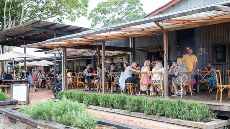 Byron Bay has a thriving restaurant scene focused on locally sourced ingredients