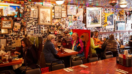 The Woody Creek Tavern is a lively, unpretentious place to grab a drink in the Aspen area