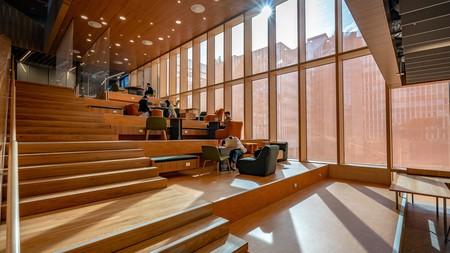 Monash University in Melbourne, Australia, features exquisite examples of modern architecture