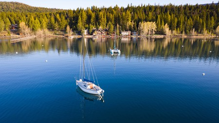 Lake Tahoe takes on a different kind of beauty in the fall