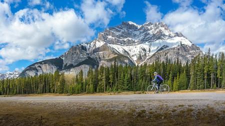 Mountain bike trails abound throughout Banff National Park