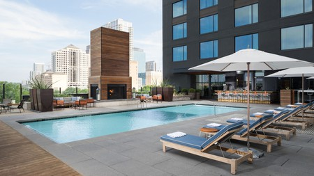Stay in the middle of the action at Kimpton Hotel Van Zandt, one of the best hotels in downtown Austin