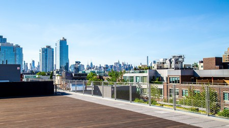 Admire the sweeping views atop one of Pod Brooklyn's four rooftop spaces
