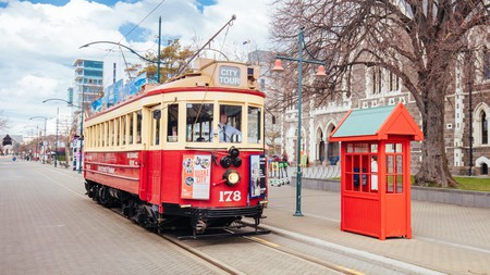 Don't miss out on the Tramway experience during your hostel stay in Christchurch, New Zealand