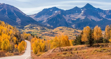Colorado's spectacular natural landscapes take on a special hue in the fall