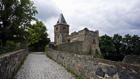 For a good fright, visit the Frankenstein Castle in Germany
