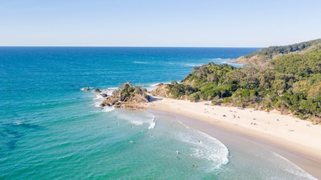 Byron Bay's laid-back feel and surf-friendly beaches make it a popular stop for backpackers