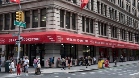Strand Bookstore in Manhattan
