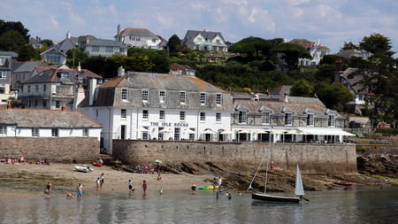St Mawes in south Cornwall is the perfect option for a weekend at the seaside, and you can dine in style at the Idle Rocks hotel