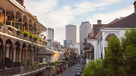 The bohemian French Quarter is bursting with glamour and charm.