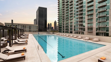 Twelve Hotel's Atlantic Station venue is one of the top places to stay in the Buckhead area of Georgia's capital