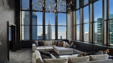Indulge in the stunning city views at these famous NYC hotels