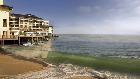 Many hotels in Monterey offer superb views of the ocean