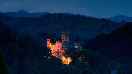 This year, take a virtual trip to Bran Castle and celebrate Halloween safely from your living room