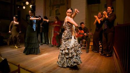 Flamenco at the Tablao de Carmen, Barcelona, Spain.