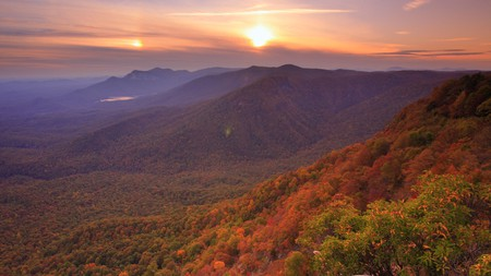 South Carolina's mountains and state parks see a riot of color in autumn