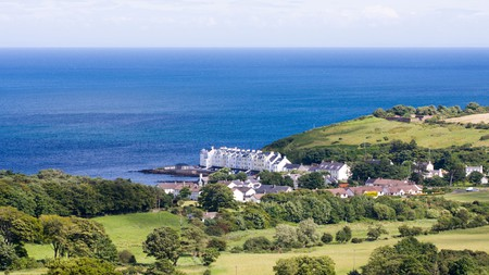 Cushendun is one of the top places to go glamping in Northern Ireland