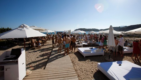 Blue Marlin is one of the top beach clubs on the island of Ibiza