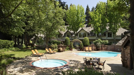 Napa Valley's best inns offer locally sourced meals, world-class wines and luxurious spa treatments