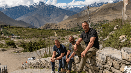 'Top Gear' presenters Freddie Flintoff, Chris Harris and Paddy McGuinness visit Nepal for a 2019 Christmas special