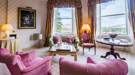 Inverlochy Castle is as luxurious as hotels come in Scotland