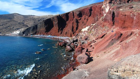 Red Beach is one of Santorini's most beautiful and famous beaches