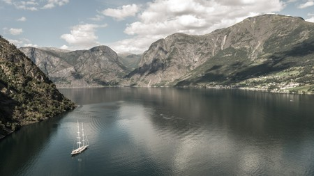 Fjord focus: the Norwegian fjords are a great way of getting away from it all and experiencing 'friluftsliv'