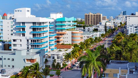 Ocean Drive is home to some of Miami's most stylish hotels