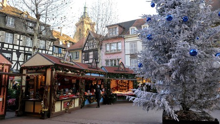 There are six Christmas markets to choose from in Colmar, France