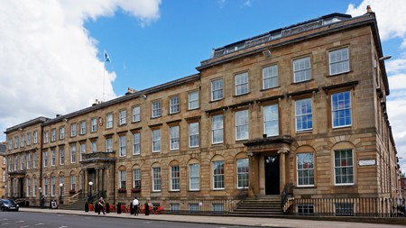 Decadent Blythswood Square Hotel in Glasgow offers old world glamour and modern elegance