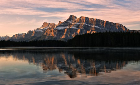 Mount Rundle is a stunning view not to be missed when visiting Banff National Park, Canada