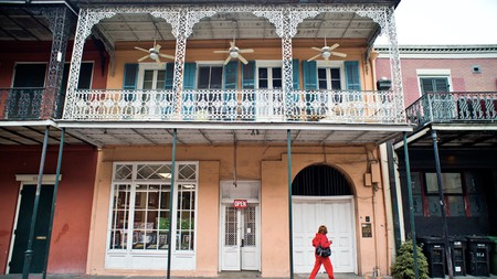 Enjoy a stroll around New Orleans and stay in a historic converted hotel