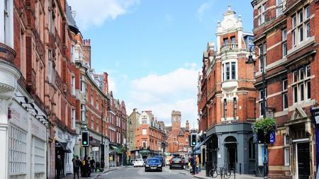 Heath Street, Hampstead, London Borough of Camden, Greater London, England, United Kingdom