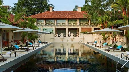Sofitel Singapore Sentosa Resorts & Spa is a luxurious paradise in Sentosa, Singapore