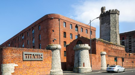You'll find the Titanic Hotel in Bramley Moor Dock, Liverpool
