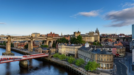 The Newcastle and Gateshead Quayside are now a thriving, cosmopolitan area with bars and restaurants