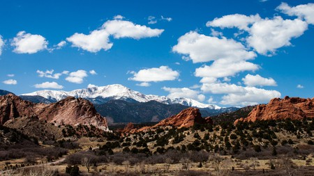 Garden of the Gods Park is a National Natural Landmark and the most popular attraction in the region